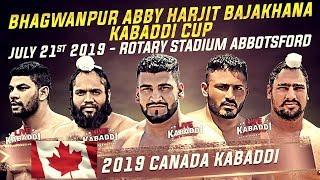 LIVE - 2019 CANADA KABADDI - Bhagwanpur Abby Kabaddi Cup