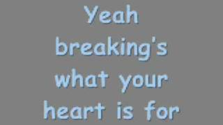 Breakin' The All American Rejects Breakin' ( With Lyrics)