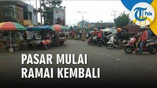 Pasar Terbesar di Manokwari Mulai Dipadati Pembeli