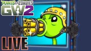 Bling Gatling | Plants vs Zombies Garden Warfare 2 LIVE - With Subs | Sponsor Goal [5/10]