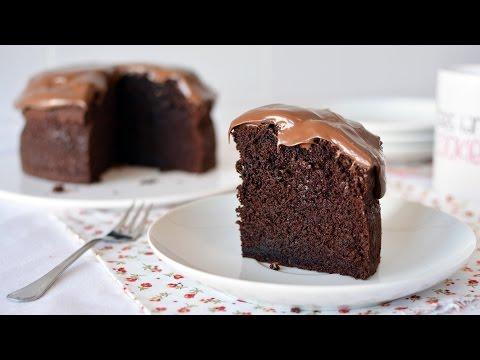 Video How to Make a Simple Chocolate Cake - Easy Homemade Chocolate Cake Recipe