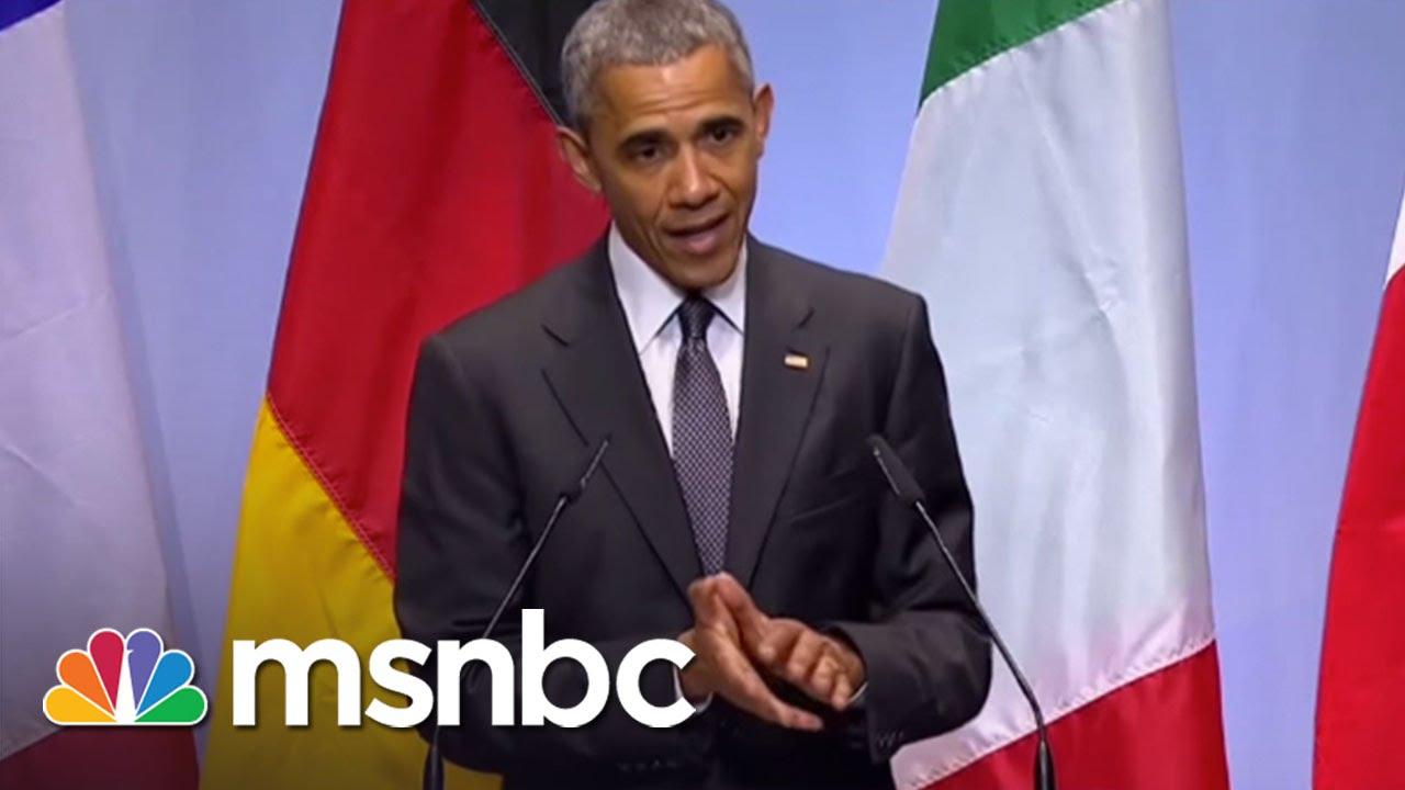 Obama Criticized For ISIS Remarks | Morning Joe | MSNBC thumbnail