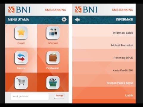 Cara bayar listrik Via SMS banking Bni