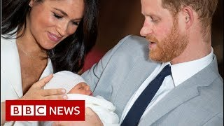 Royal Baby: Duke And Duchess Of Sussex Name Son Archie - BBC News