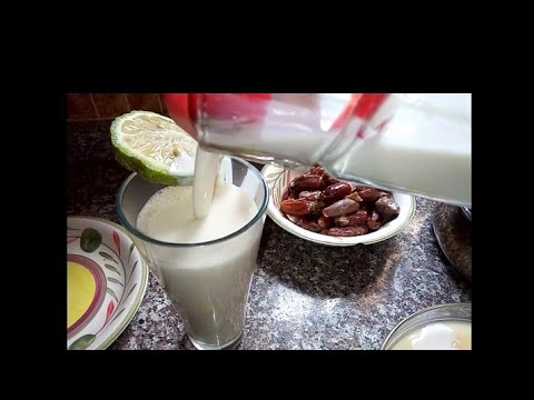 HOW TO PREPARE SOYA MILK WITH DATE.