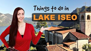 Lake Iseo - Dont go to Lake Como or Lake Garda - Italy from Above - Italy Drone.