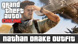 GTA 5 Online - Uncharted Nathan Drake Outfit and Customization