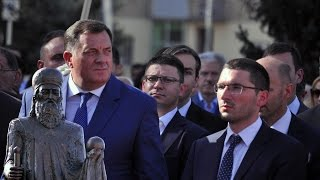 preview picture of video 'Miroslav Parovic: Otkrivanje spomenka Stefanu Nemanji - Banja Luka (10.10.2014)'
