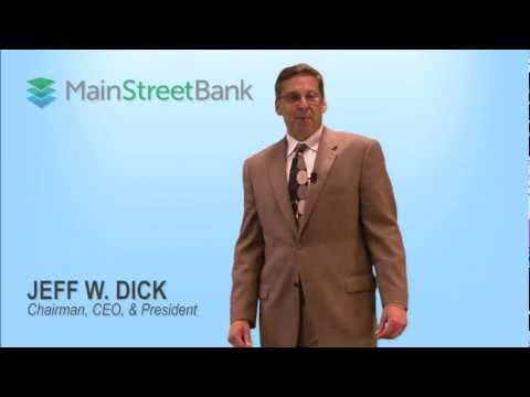 introduction to MainStreet Bank