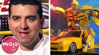 Top 10 Unbelievable Cakes On Cake Boss