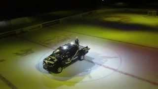preview picture of video 'Heli-Cam: Beeindruckende Bilder Spiel Krefeld Pinguine - Straubing 28.10.2014'