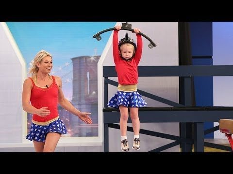 Logan Paul Vs a 5year old girl in American Ninja ninja warrior