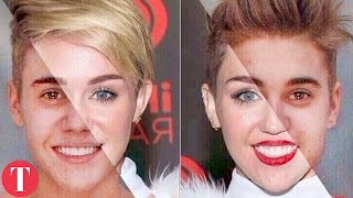 10 Famous People Who Look EXACTLY The Same