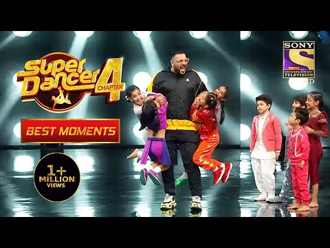 Badshah ने Try किया Super Dancers के Super Moves | Super Dancer 4 | सुपर डांसर 4