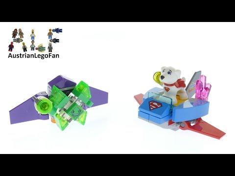 Vidéo LEGO DC Super Hero Girls 30546 : Krypto sauve la situation (Polybag)
