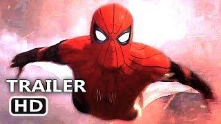 SPIDER-MAN FAR FROM HOME International Trailer (2019) New Footage Tom Holland Movie HD