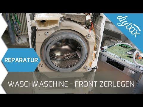 AEG Waschmaschine reparieren - Frontblende zerlegen