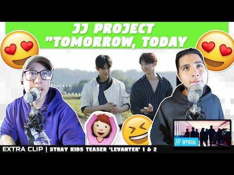 "NSD REACT | JJ Project ""Tomorrow, Today(내일, 오늘)"" M/V |EXTRA VIDEO: STRAY KIDS 'LEVANTER' TEASER 1 &2"