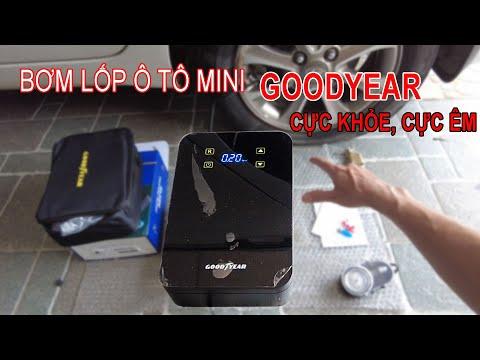 Bơm Ô Tô Mini GoodYear GY3302