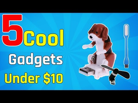 5 Cool Gadgets Under $10 | Best Product
