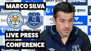 LIVE MARCO SILVA PRESS CONFERENCE | LEICESTER CITY V EVERTON