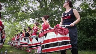Batala drummers: Living to their own beat