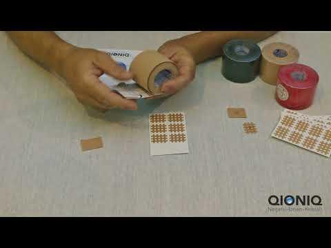 Pflaster schneiden für QIONIQ Nanotech-Kristalle (Eine Rolle = ca. 600 Stück/Anwendungen)
