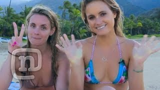 Learn To Surf With Pro Surfer Alana Blanchard!