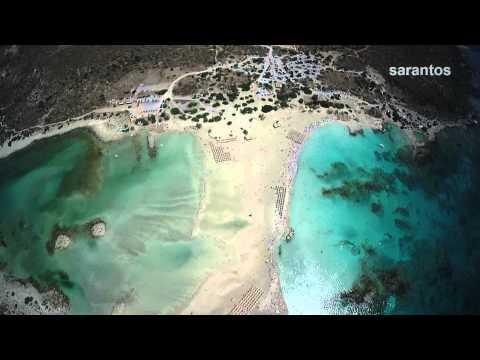 Το μαγευτικό Ελαφονήσι από ψηλά – Στιγμιότυπα από την εξωτική παραλία της Κρήτης [βίντεο]
