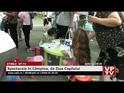 Spectacole în Câmpina, de Ziua Copilului