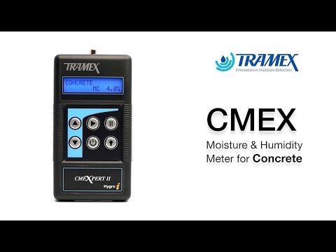 Concrete Moisture Meter CMEX II (DIGITAL)