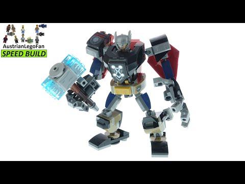 Vidéo LEGO Marvel 76169 : L'armure robot de Thor