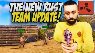 Using the NEW Teaming System to Raid my RICH Neighbour! - Rust Co-op Survival Gameplay