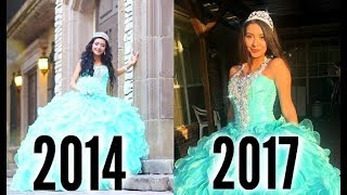 Trying On My Quince Dress 3 Years Later...