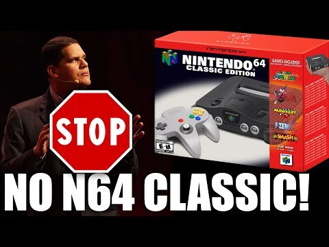 Reggie's Body Is NOT READY To Give You An N64 Classic Mp3