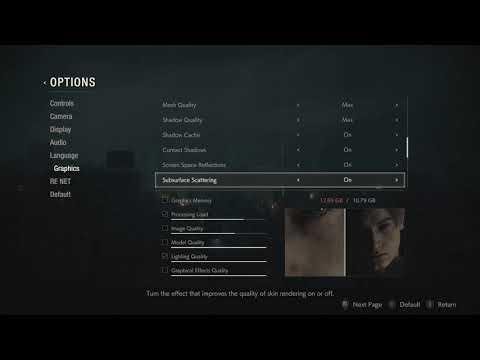 Black Room in Resident evil 4 when Using dolphin emulator on