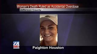 Jefferson County Woman's Death Ruled as Accidental Overdose