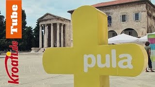 Pula   Die Historische Stadt In Istrien