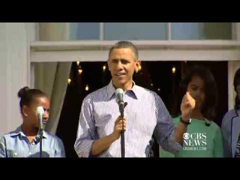 Obama family kicks off 2013 Easter Egg Roll