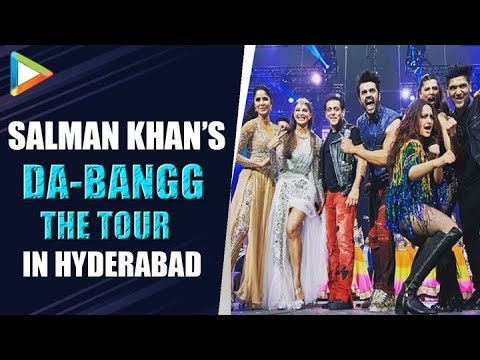 EXCLUSIVE: Salman Khan at Da-Bangg The Tour At LB Stadium in Hyderabad | 2nd November