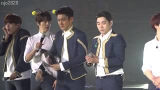 150329 SS6Nanjing Donghae ment & choki choki dance (can you feel it)