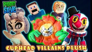 Cuphead Funko Series 2 Villains Plush!? Custom King Dice Cagney Carnation Beppi and More!