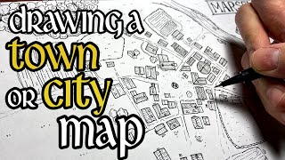 Drawing A Town Map (for D&D)