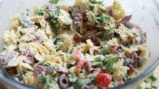 BLT Caesar Pasta Salad Recipe … Way to easy  yet so good!