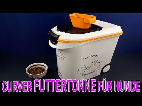 CURVER 12 KILO FUTTERTONNE FÜR HUNDE [Vorstellung | dertestmichel]