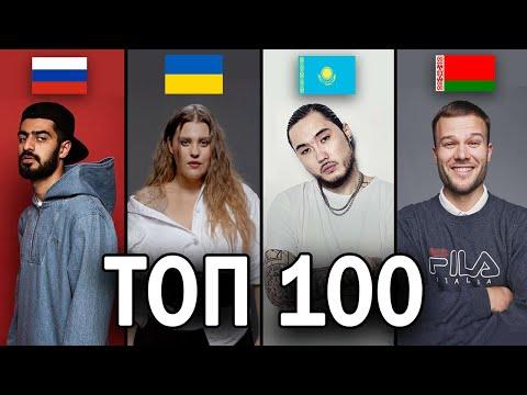 ТОП 100 клипов по просмотрам (Россия, Украина, Казахстан, Беларусь) / Май 2019