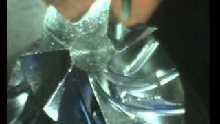 Cybaman – Turbo Compressor – 6 Axes CNC Aerospace Machining : 2