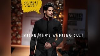 BEST INDIAN MENS WEDDING SUIT| Mens Style