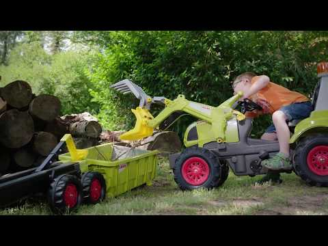 ROLLY CONTAINER CLAAS TRACTOR width=