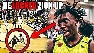 "Meet The Player With a 7' 2"" WINGSPAN That LOCKED Up Zion Williamson (Ft Nassir Little, NBA Defense)"